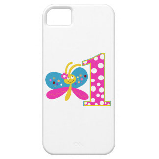 Girly Butterfly First Birthday iPhone 5 Cover
