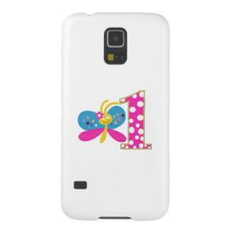 Girly Butterfly First Birthday Galaxy S5 Cover
