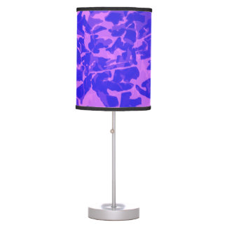 Girly Camouflage Table Lamp