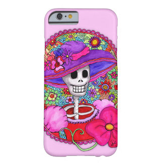 Girly Catrina iPhone Case