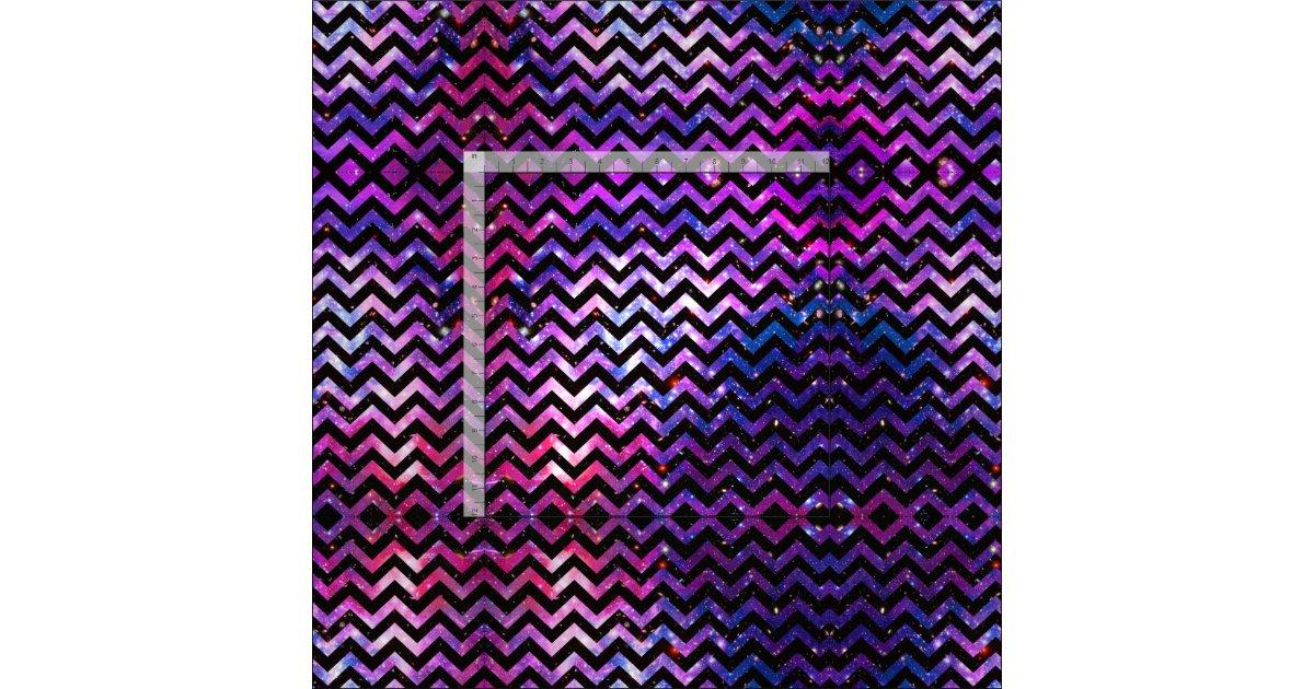 Girly chevron pattern cute pink teal nebula galaxy fabric for Galaxy nebula fabric