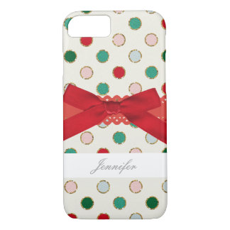 Girly Christmas Holiday Phone Case