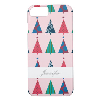 Girly Christmas Tree Holiday Phone Case