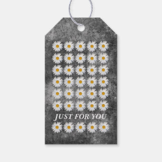 Girly contemporary Floral Celebration Gift Tags