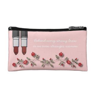 Girly cosmetic bag