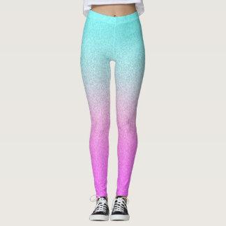 Girly Cute Glittery Leggings