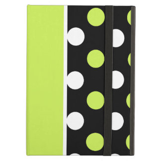Girly Damask and Polka Dot Patterns Cover For iPad Air