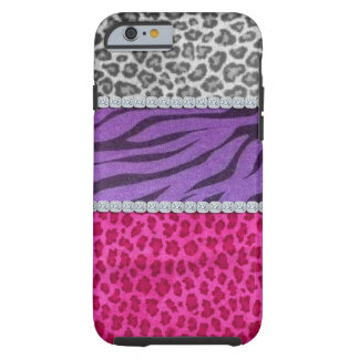 Girly Diamond Animal Tough iPhone 6 Case