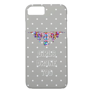 Girly drone iPhone 8/7 case