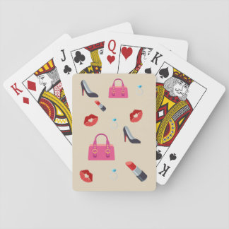 Girly Emoji Playing Cards