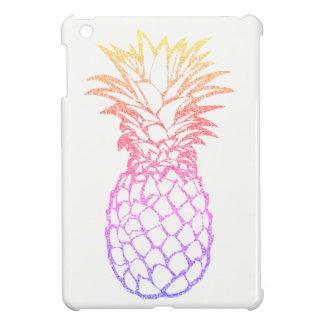 Girly Faux Glitter Pineapple White iPad Mini Case