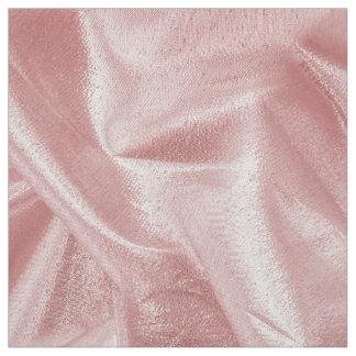 Girly Faux Pink Lame' Metallic Fabric Crumpled