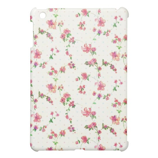 Girly Floral  Case For The iPad Mini