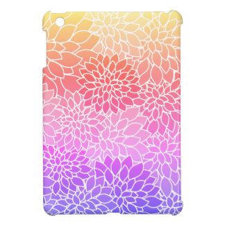 Girly Floral Design Hard Shell iPad Mini Case