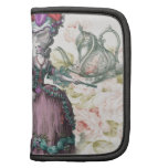 Girly floral Marie Antoinette Paris tea party Organizers