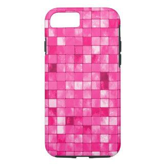 Girly Fuchsia Geometric Decorative Tile Pattern Case-Mate iPhone Case