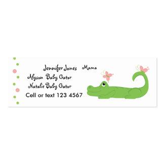 Girly Gator Business Cards