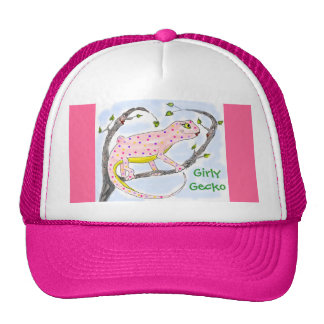 Girly Gecko Mesh Hat