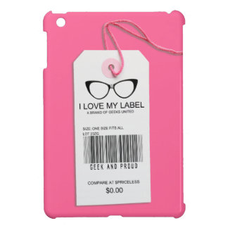 Girly Geek Tag iPad Mini Cases
