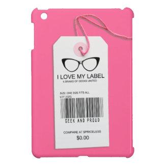 Girly Geek Tag iPad Mini Cover