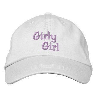GIRLY GIRL cap Embroidered Hats