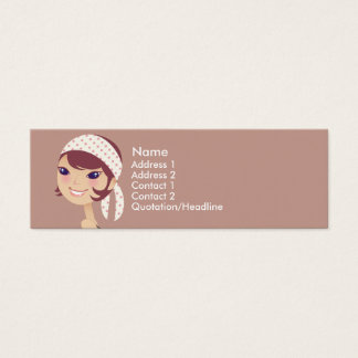 Girly Girl Profile Cards