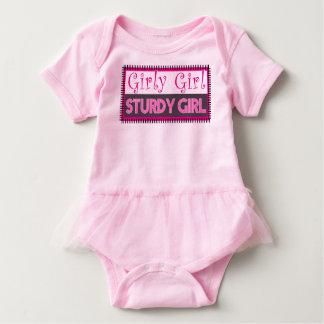 Girly Girl - Sturdy Girl Baby Bodysuit