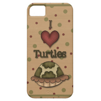 Girly I Love Turtles iPhone5 iPhone 5 Case