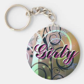 Girly Keychain