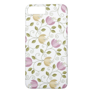 Girly Lavender Floral iPhone 7 Plus Case
