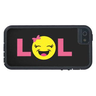 Girly LOL Emoji iPhone 5 Covers