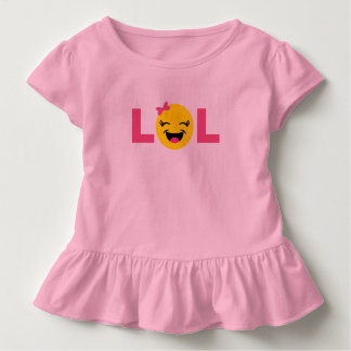 Girly LOL Emoji Toddler T-shirt
