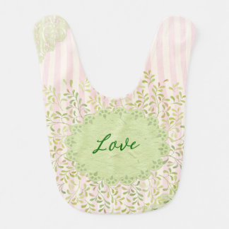 Girly Love Bib