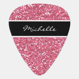 Girly Monogram Guitar Picks