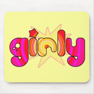 GIRLY MOUSE PAD