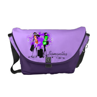 Girly name fashion models trendy courier bags