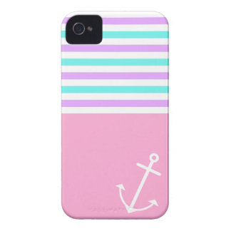 Girly Nautical Case-Mate iPhone 4 Case