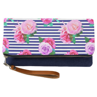 Girly Nautical Clutch