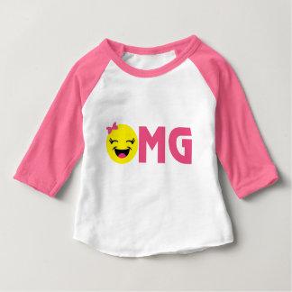 Girly OMG Emoji Baby T-Shirt