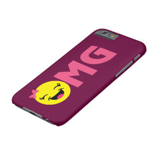Girly OMG Emoji Barely There iPhone 6 Case