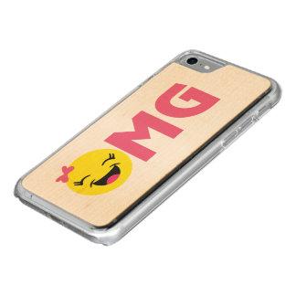 Girly OMG Emoji Carved iPhone 8/7 Case