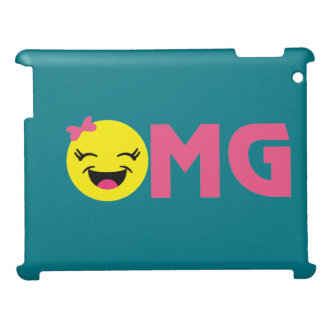 Girly OMG Emoji Cover For The iPad
