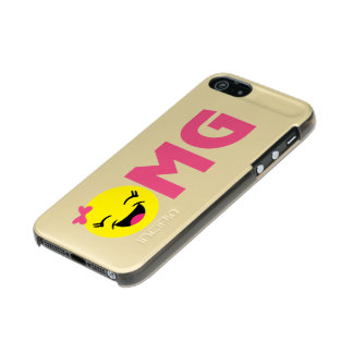Girly OMG Emoji Incipio Feather® Shine iPhone 5 Case