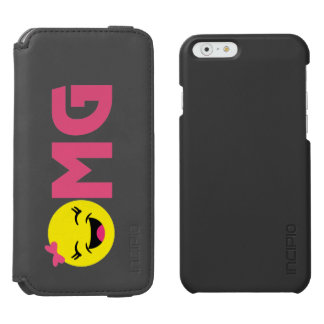 Girly OMG Emoji Incipio Watson™ iPhone 6 Wallet Case