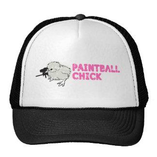 Girly Paintball Trucker Hat