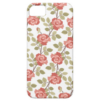 Girly Pink Cottage Roses iPhone 5 Cases
