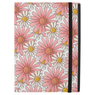 "Girly Pink Daisies and White Daisies iPad Pro 12.9"" Case"
