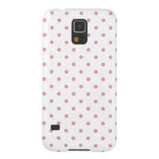 Girly Pink Dots Galaxy S5 Cover