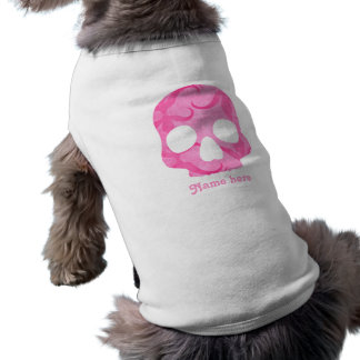 Girly pink skull shirt