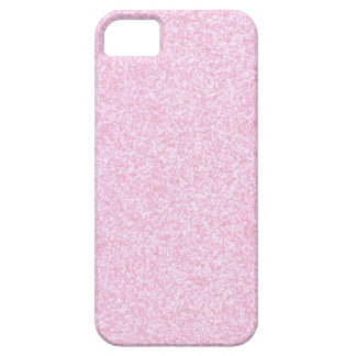 Girly Pink Sparkling Glitter iPhone 5 Cover